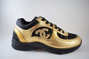 Chanel Trainer Gold