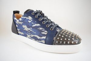 Christian Louboutin Louis Junior Spikes Multi