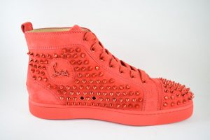 Christian Louboutin Louis Spikes Poppy