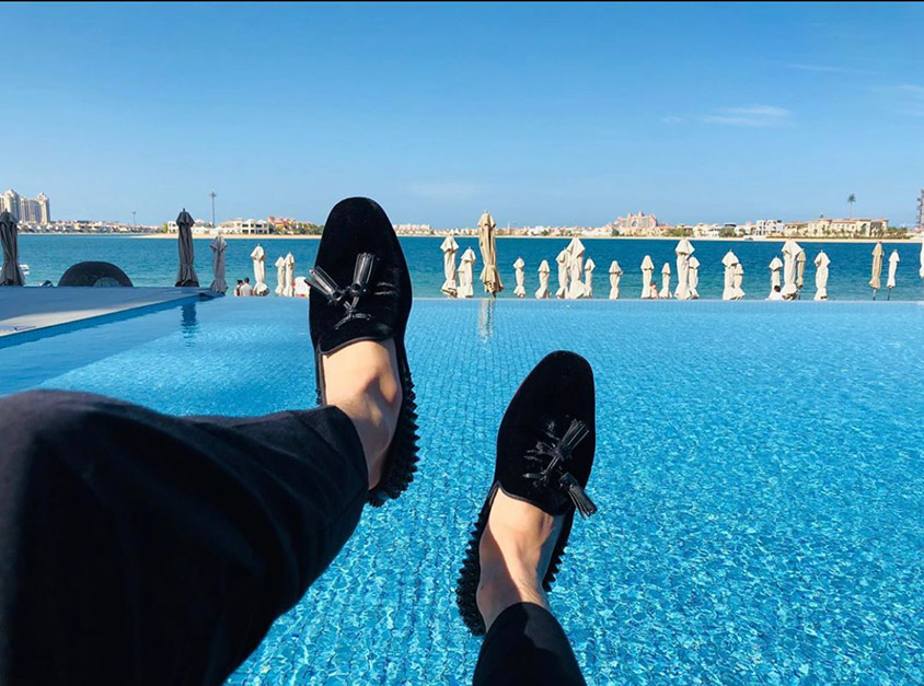 Classics Fine D3sign loafers poolside