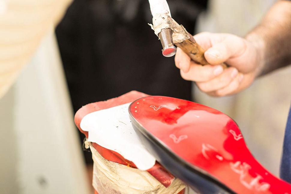 All Christian Louboutin shoes are carefully crafted in Europe.