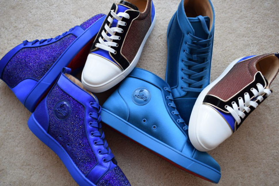 The iconic brand maintains it's eye catching standard with luxury footwear for men.