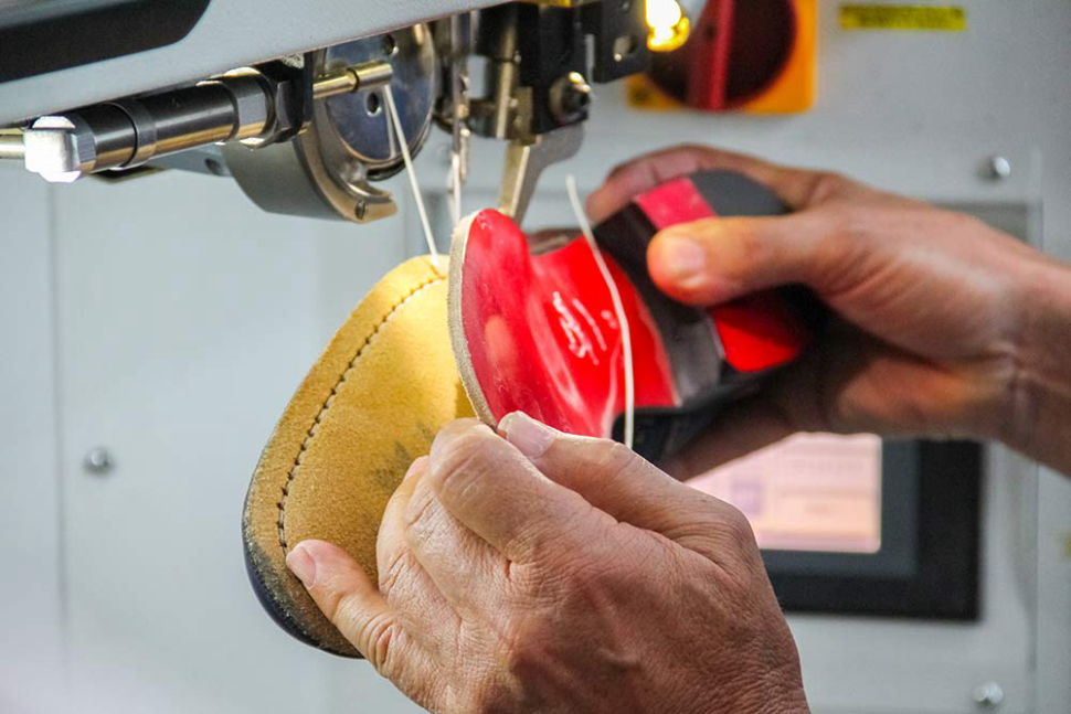Only high quality materials are used to make iconic Louboutin shoes