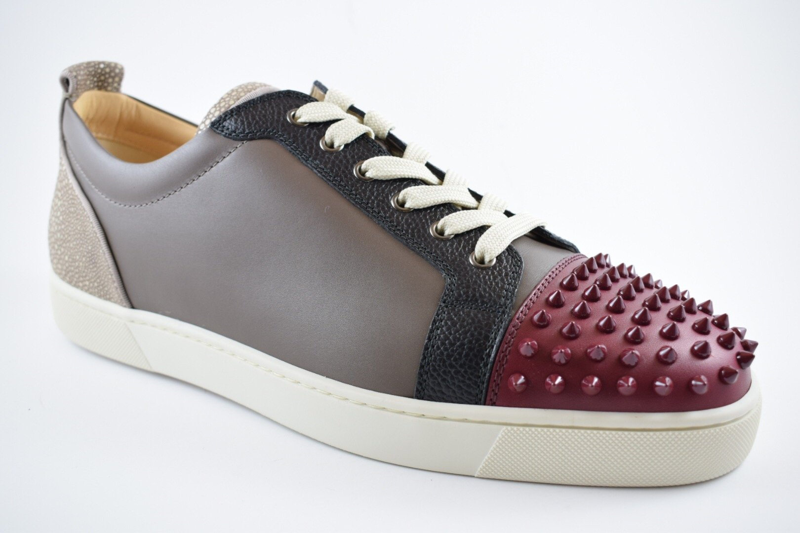Louis Junior Spikes Flat Calf