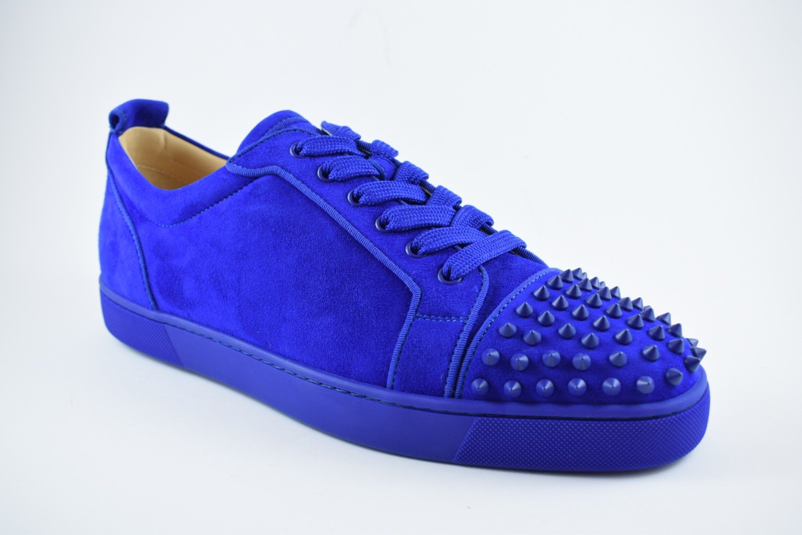 Louis Junior Spikes Orlato Flat Suede/GG
